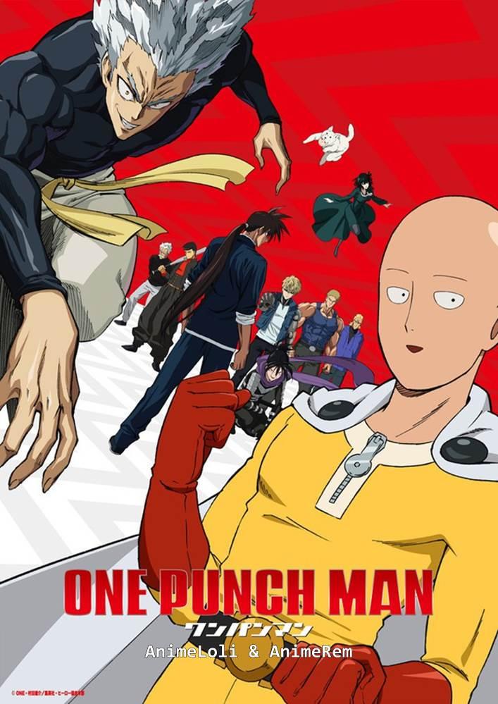 One Punch Man Season 2 โล้นซ่า หมัดเดียวจอด ภาค2 ตอนที่ 1-12 ซับไทย [จบแล้ว]+OVA