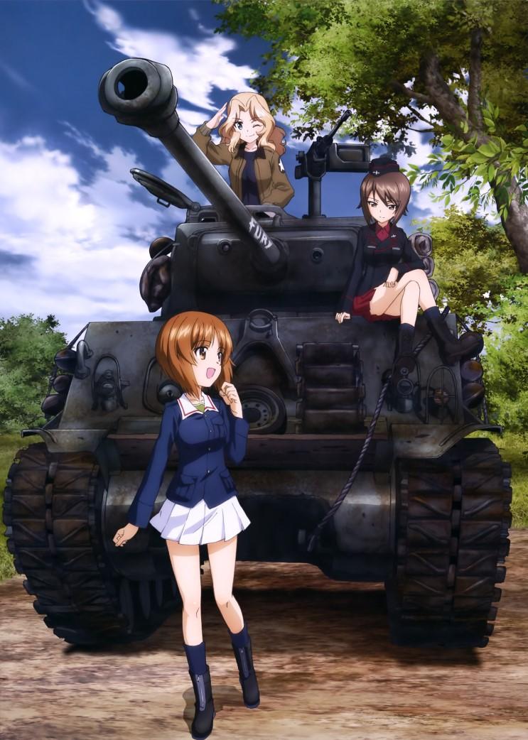 Girls und Panzer สาวปิ๊ง! ซิ่งแทงค์ ตอนที่ 1-12 พากย์ไทย [จบแล้ว]+OVA The Movie 4Ep.