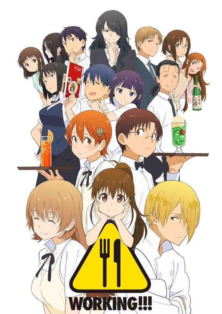 Working SS3 ปิ๊งรักสาวนักเสิร์ฟ ภาค3 ตอนที่ 1-14 ซับไทย [จบแล้ว]+OVA