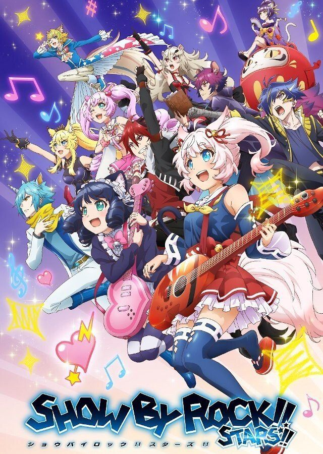 Show by Rock!! Stars!! (2021) สาวร็อคบรรเลงโลก!! สตาร์!! ตอนที่ 1-10 ซับไทย (ยังไม่จบ)