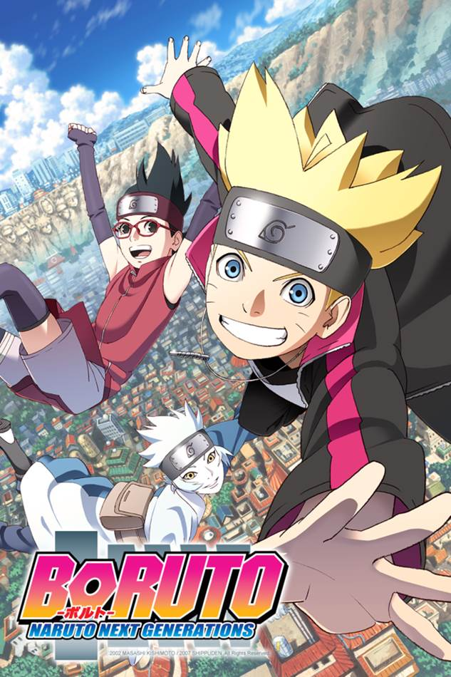 Boruto Naruto Next Generations โบรูโตะ ตอนที่ 1-221 ซับไทย (ยังไม่จบ)