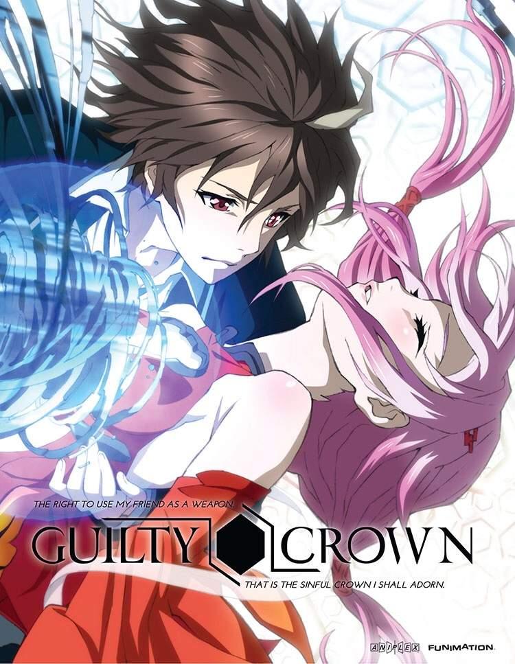 Guilty Crown ปฏิวัติหัตถ์ราชัน ตอนที่ 1-22 พากย์ไทย [จบแล้ว]+OVA