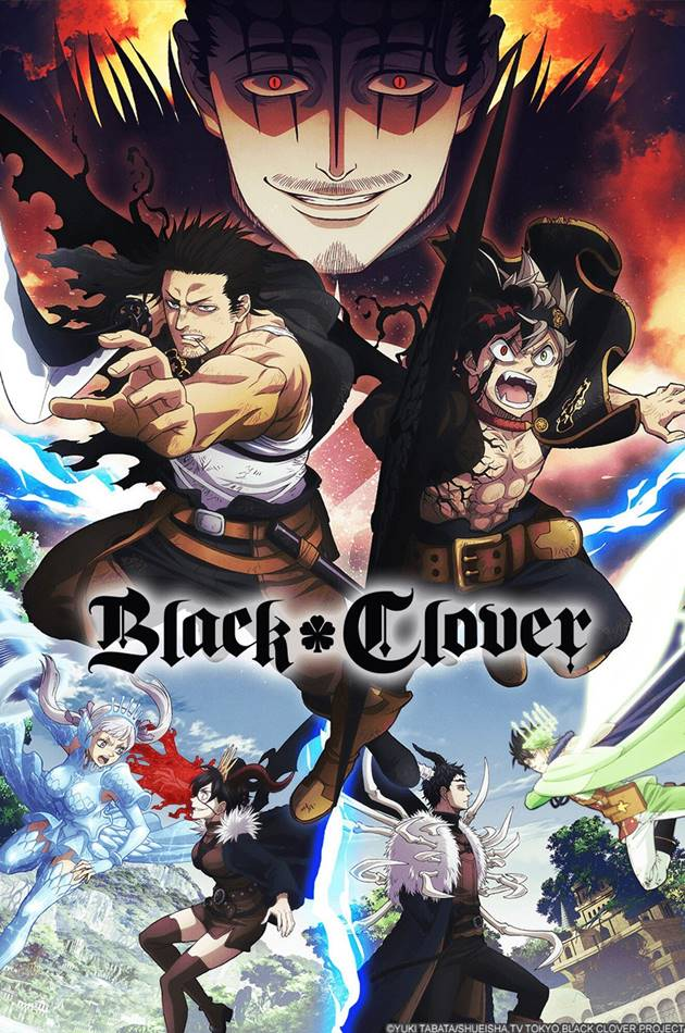 Black Clover แบล็คโคลเวอร์ ตอนที่ 1-162 ซับไทย (+OVA) (ยังไม่จบ)