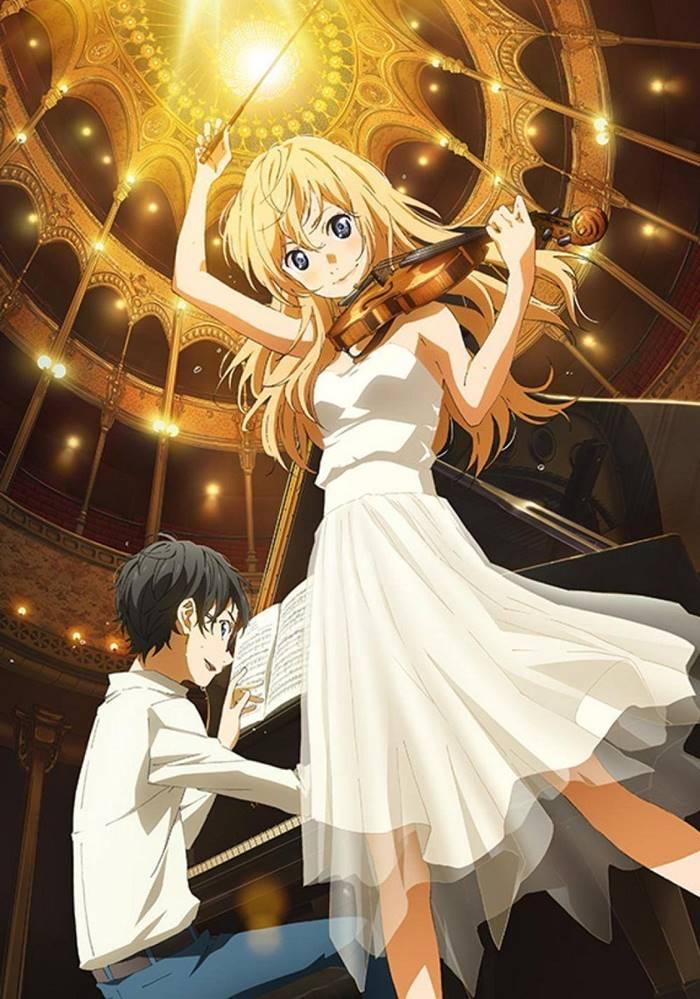 Shigatsu wa Kimi no Uso (Your Lie in April) เพลงรักสองหัวใจ ตอนที่ 1-22 พากย์ไทย [จบแล้ว]+OVA