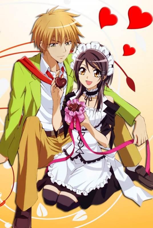 Kaichou wa Maid-sama! สาวเมดผจญหนุ่มสุดป่วน ตอนที่ 1-27 (ซับไทย [จบแล้ว]+OVA