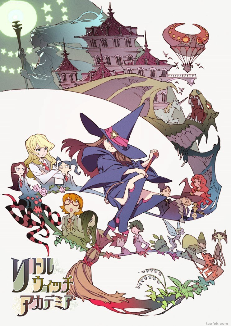 Little Witch Academia (Anime Mirai 2013) ซับไทย [จบแล้ว]