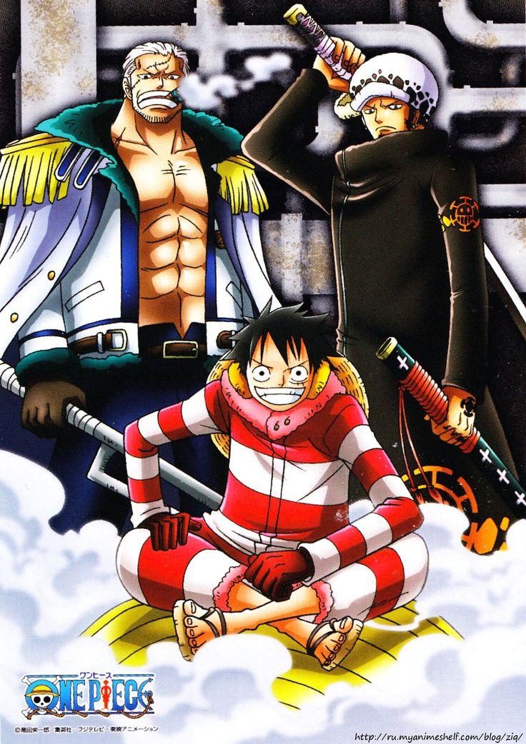 One Piece วันพีช ซีซั่น 16 พังค์ ฮาซาร์ด ตอนที่ 579-628 พากย์ไทย [จบแล้ว]