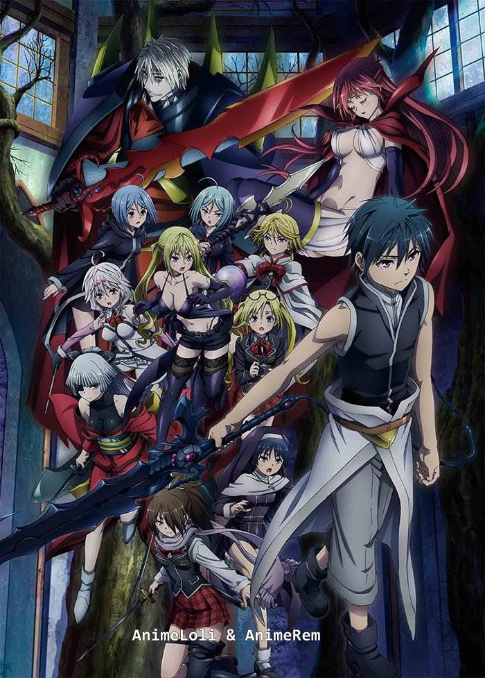 Trinity Seven Movie 2 Tenkuu Toshokan to Shinku no Maou ซับไทย (The Movie) [จบแล้ว]