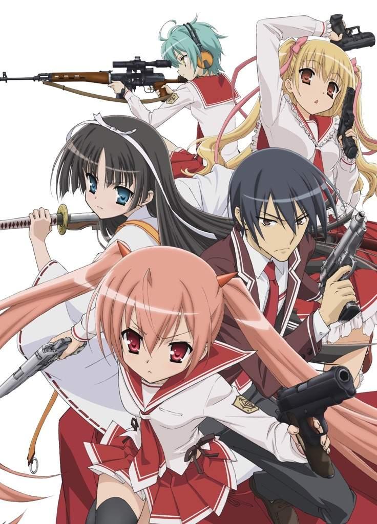 Hidan no Aria อาเรีย กระสุนแดงเดือด ตอนที่ 1-13 ซับไทย [จบแล้ว]+OVA