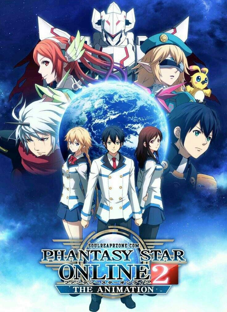Phantasy Star Online 2 The Animation ตอนที่ 1-12 ซับไทย [จบแล้ว]